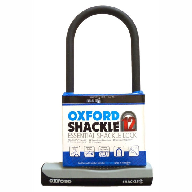 Oxford D Lock Essential Shackle