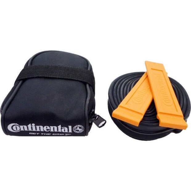Continental Seat pack saddle bag plus Race 28 60mm inner tube & tyre levers