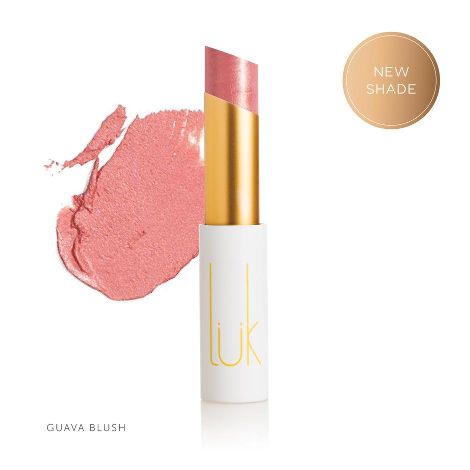LUK BEAUTIFOOD - Lip Nourish Guava Blush Natural Lipstick