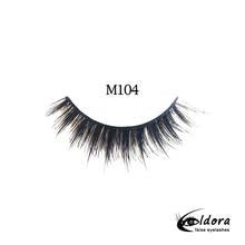 ELDORA M104 Multi-Layered False Lashes