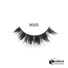 ELDORA M105 Multi-Layered False Lashes