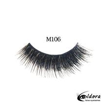 ELDORA M106 Multi-Layered False Lashes