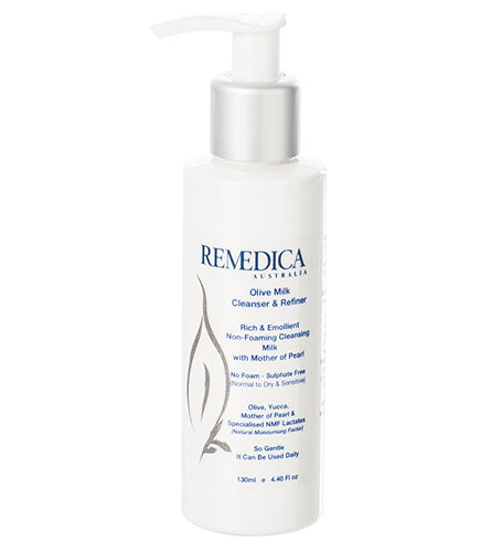 REMEDICA Olive Milk Cleanser and Refiner 130g