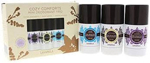 LAVANILA Cozy Comforts Mini Deo Trio - Blackberry, Vanilla & Coconut 3 x 25g