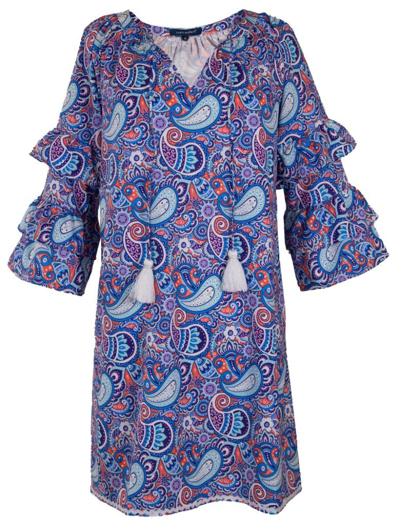 BELL SLEEVE PAISLEY - Molly's! A Chic and Unique Boutique