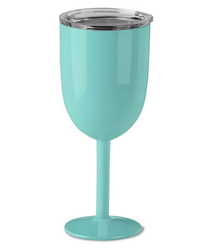 10oz Stainless Steel Wine Glass - Molly's! A Chic and Unique Boutique