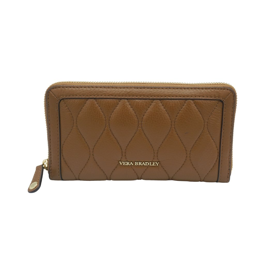 15308274 QUILTED GEORGIA WALLET IN COGNAC - Molly's! A Chic and Unique Boutique