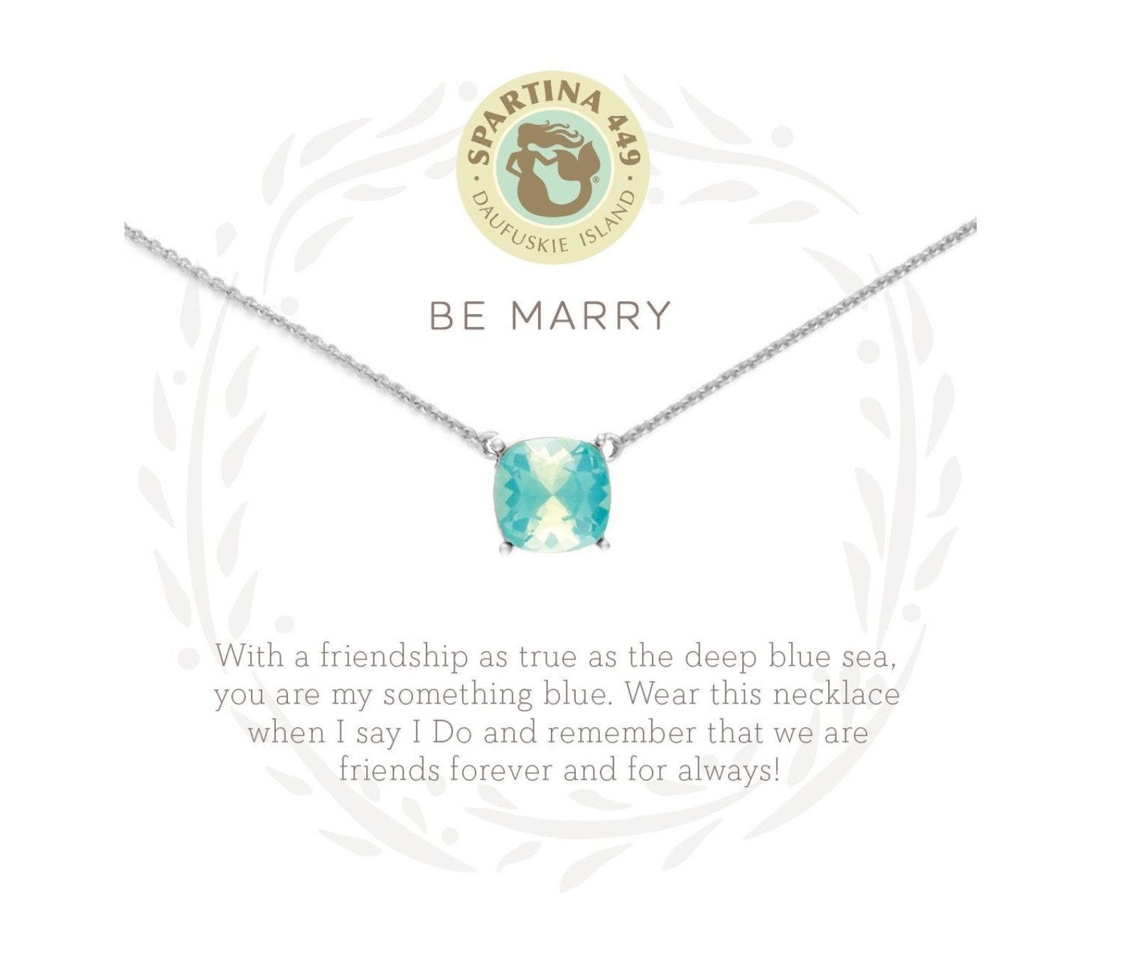 "18"" BE MARRY/ BLUE - Molly's! A Chic and Unique Boutique"