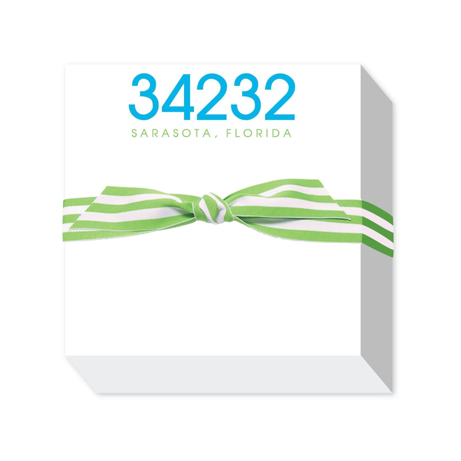 34232 ZIPCODE NOTEPAD - Molly's! A Chic and Unique Boutique