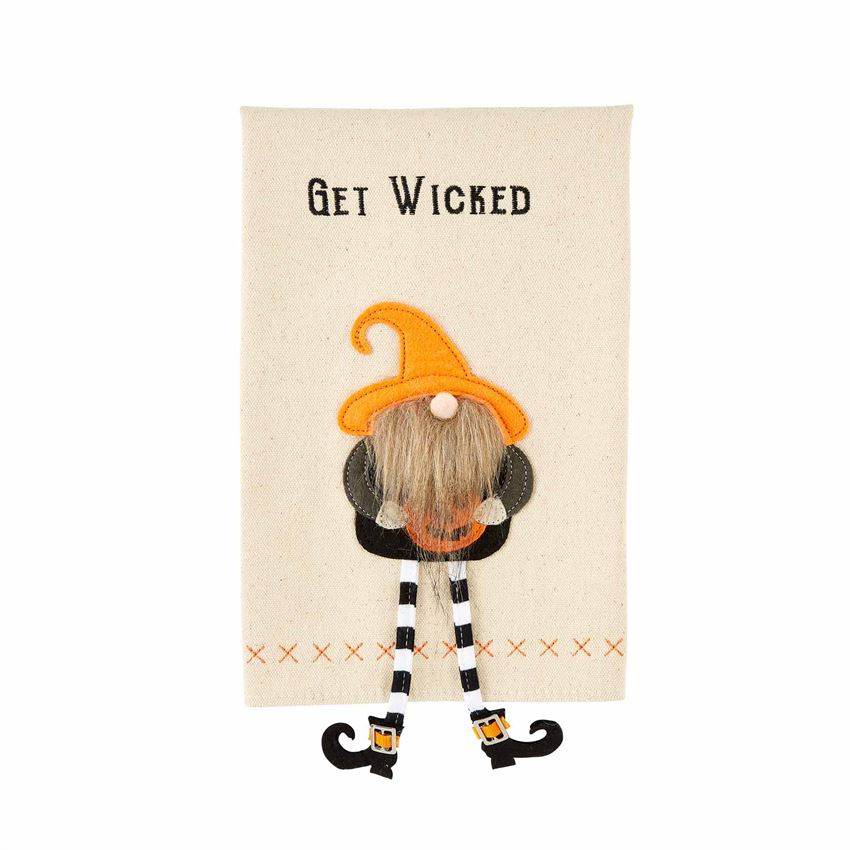 GET WICKED GNOME HALLOWEEN TOWEL - Molly's! A Chic and Unique Boutique