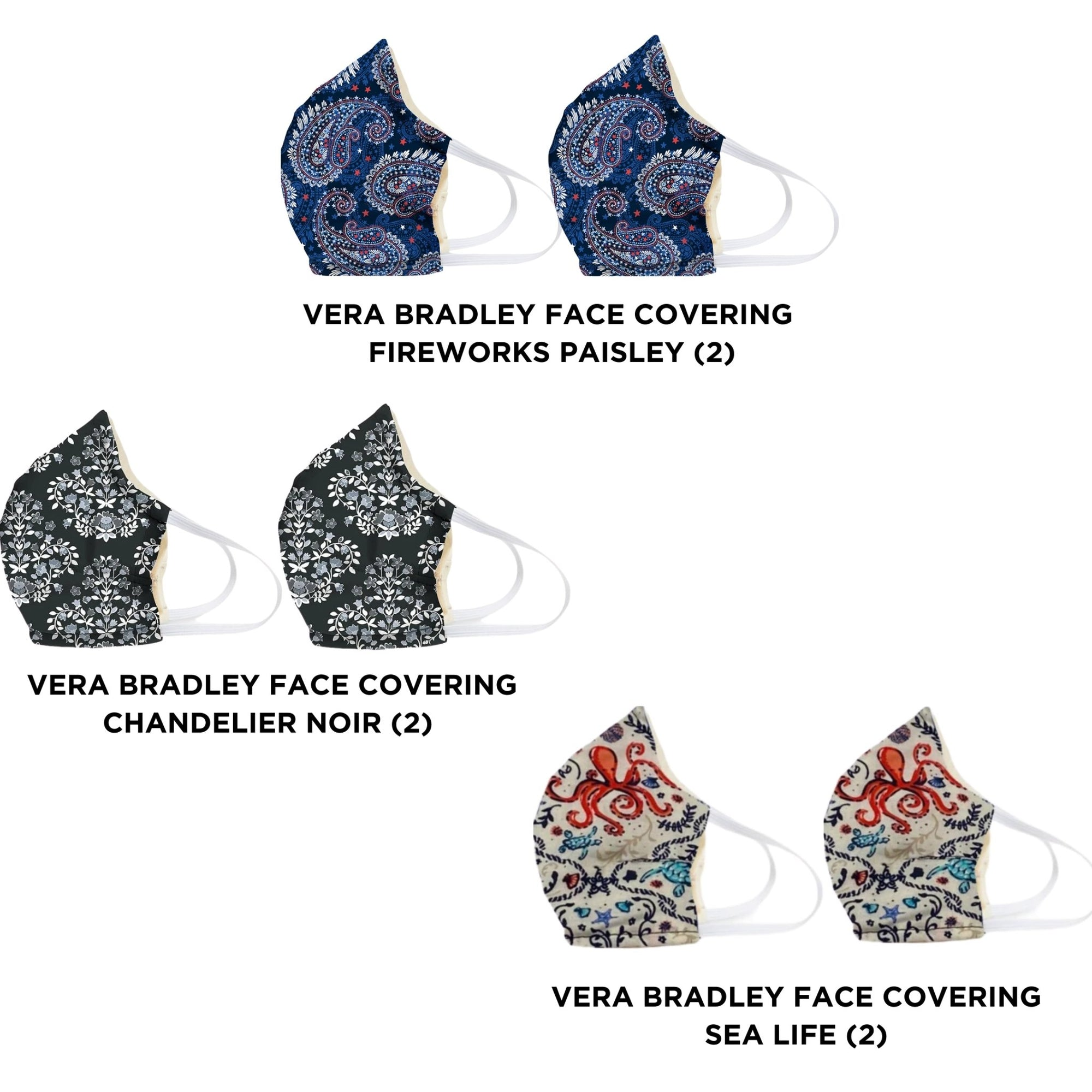 6 PACK OF VERA MASKS - Molly's! A Chic and Unique Boutique