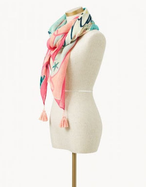 FLORIDA SQUARE SCARF - Molly's! A Chic and Unique Boutique
