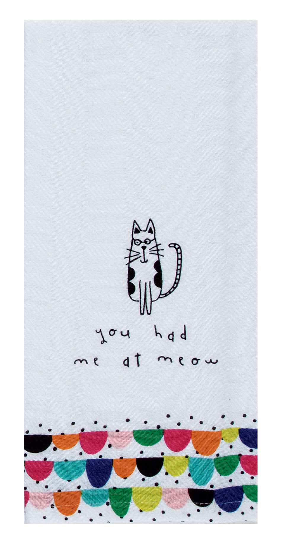 Cat Meow Tea Towel - Molly's! A Chic and Unique Boutique
