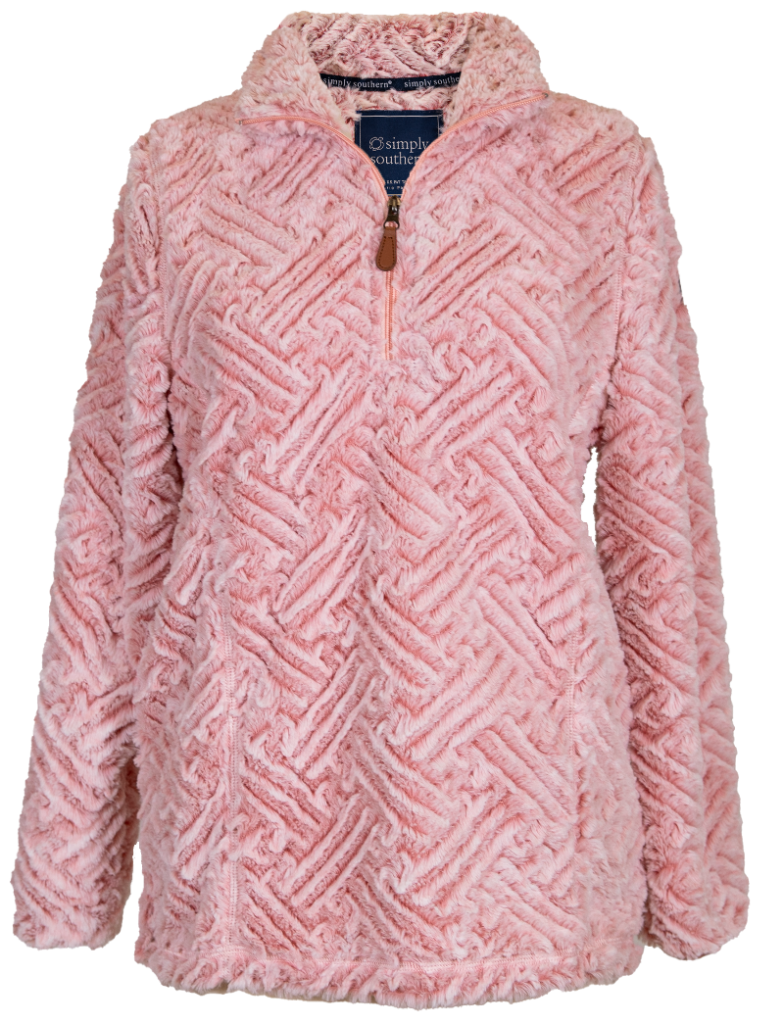 WEAVE PULLOVER PINK - Molly's! A Chic and Unique Boutique