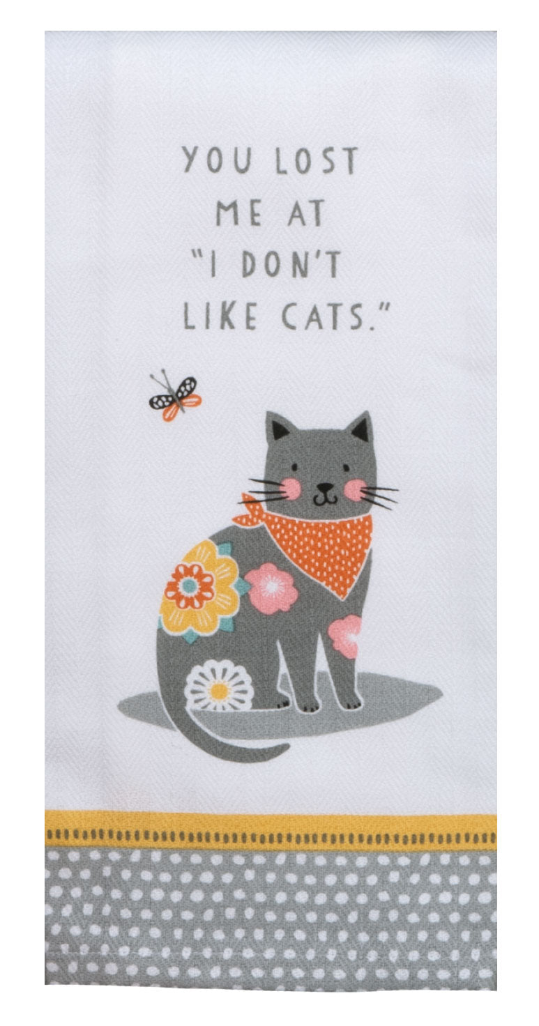 Cat Patch Like Cats Tea Towel - Molly's! A Chic and Unique Boutique