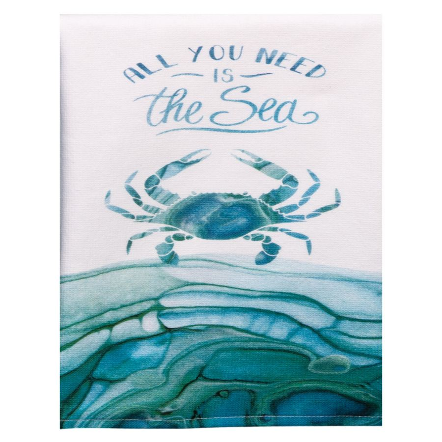 THE SEA CRAB TERRY TOWEL - Molly's! A Chic and Unique Boutique