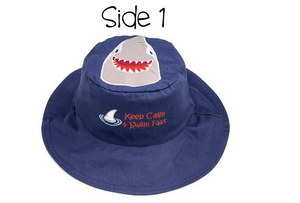 Shark & Crab Reversible Sun Hat UPF 50 - Molly's! A Chic and Unique Boutique