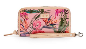 WRISTLET WALLET: BRYNN FLAMINGO - Molly's! A Chic and Unique Boutique