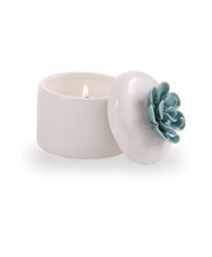 TURQUOISE SUCCULENT CANDLE - Molly's! A Chic and Unique Boutique