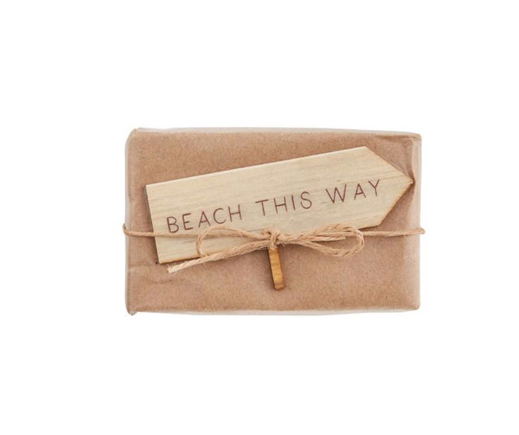 BEACH SIGN SOAP TRIM - Molly's! A Chic and Unique Boutique