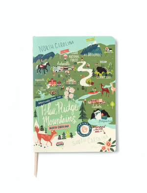 RULED NOTEBOOK BLUE RIDGE 947829 - Molly's! A Chic and Unique Boutique