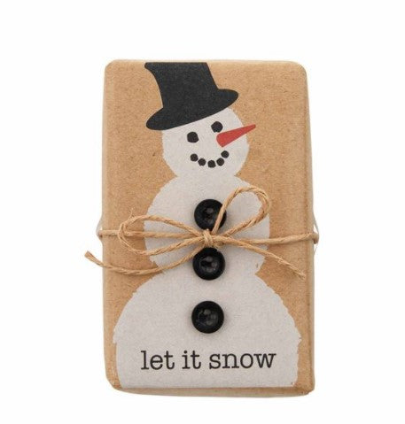 Let it Snow Christmas Soap - Molly's! A Chic and Unique Boutique