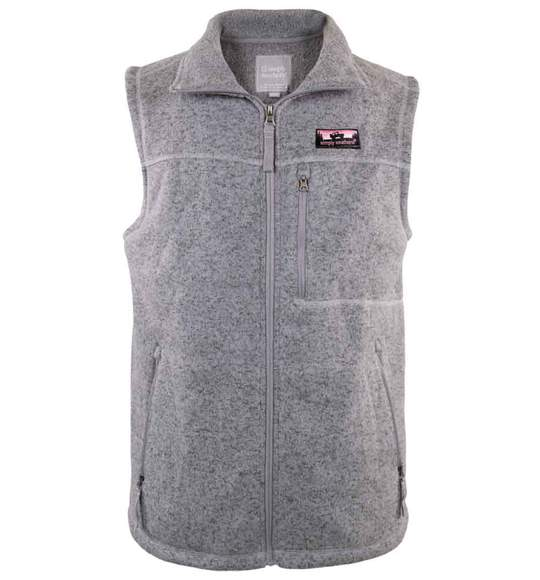 KNIT VEST GRAY - Molly's! A Chic and Unique Boutique