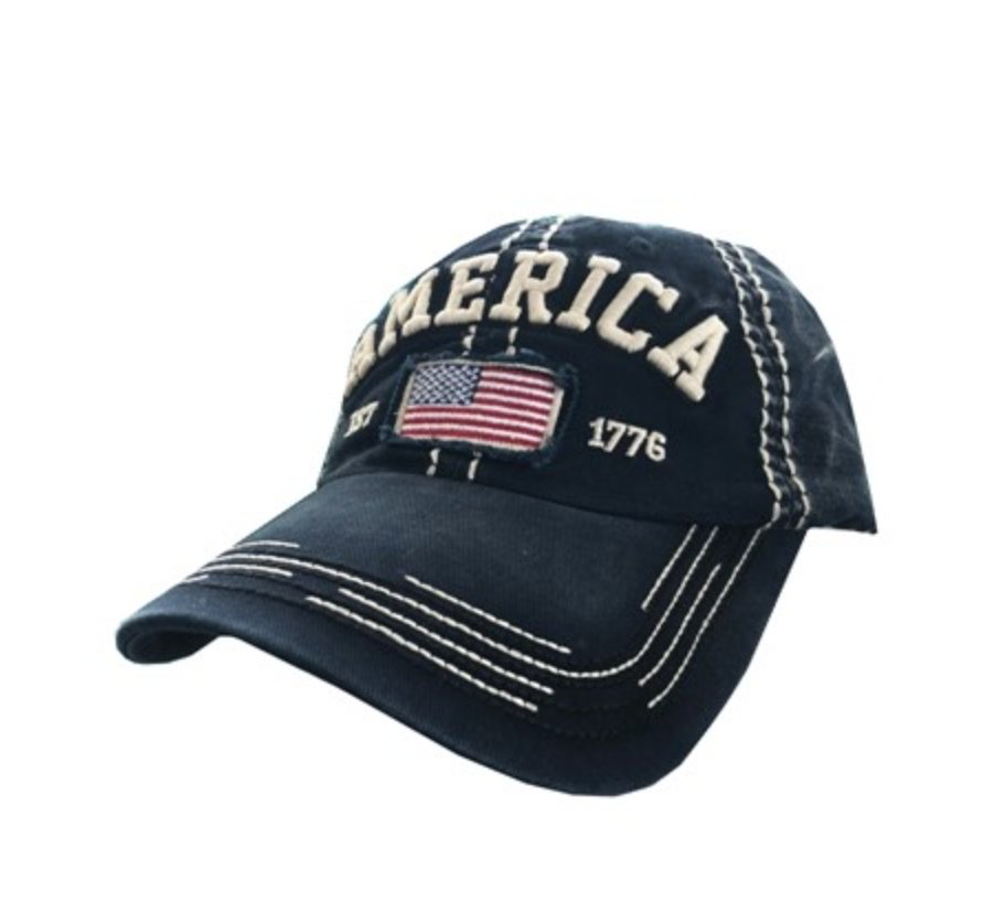 AMERICAN FLAG HAT - Molly's! A Chic and Unique Boutique