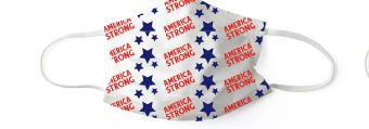 American Strong:  Set of 7 Masks - Molly's! A Chic and Unique Boutique