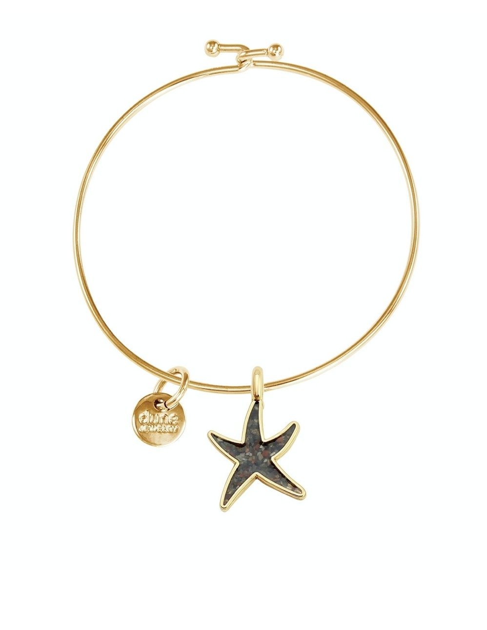 BANGG31 BANGLE STARFISH GOLD - Molly's! A Chic and Unique Boutique