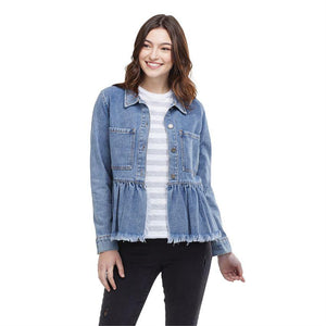 Banks Jacket Blue - Molly's! A Chic and Unique Boutique
