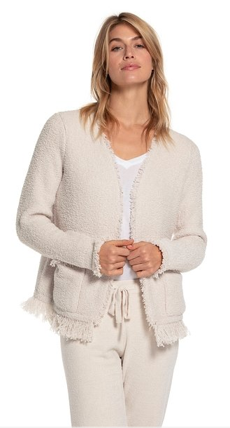 BAREFOOT DREAMS: FRINGED JACKET - Molly's! A Chic and Unique Boutique