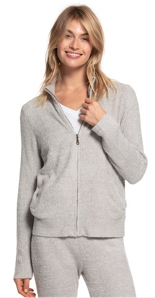 BAREFOOT DREAMS: ZIP FRONT JACKET - Molly's! A Chic and Unique Boutique