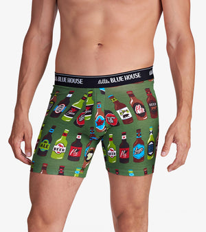 BEER BOTTLES MEN'S BOXER BRIEFS - Molly's! A Chic and Unique Boutique