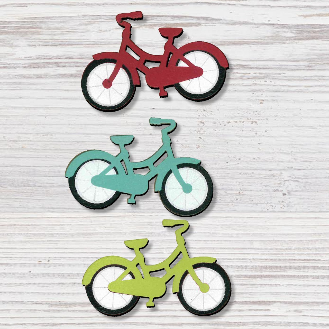 BICYCLE MAGNETS S/3 - Molly's! A Chic and Unique Boutique