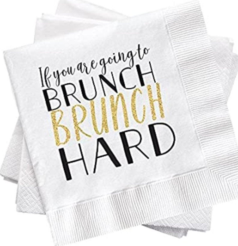 Brunch Paper Napkins - Molly's! A Chic and Unique Boutique