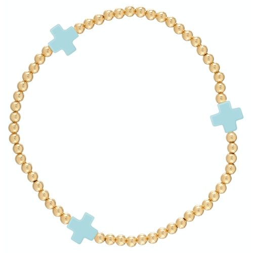 BSCGP2T SIGNATURE CROSS-TURQUOISE - Molly's! A Chic and Unique Boutique