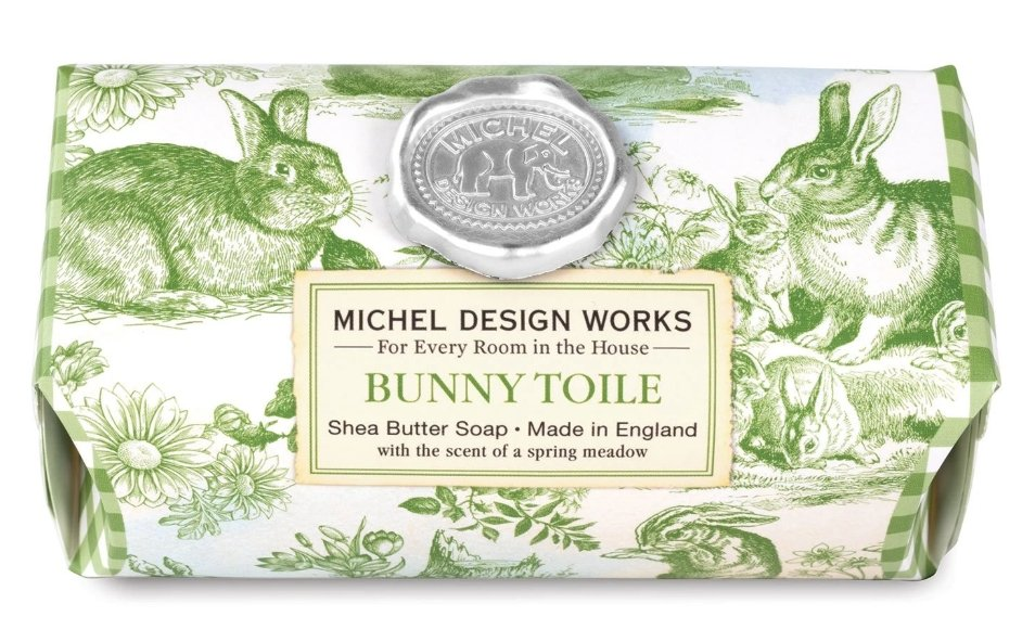 BUNNY TOILE SOAP SOAL338 - Molly's! A Chic and Unique Boutique