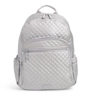 CAMPUS BACKPACK IN SILVER PEARL - Molly's! A Chic and Unique Boutique