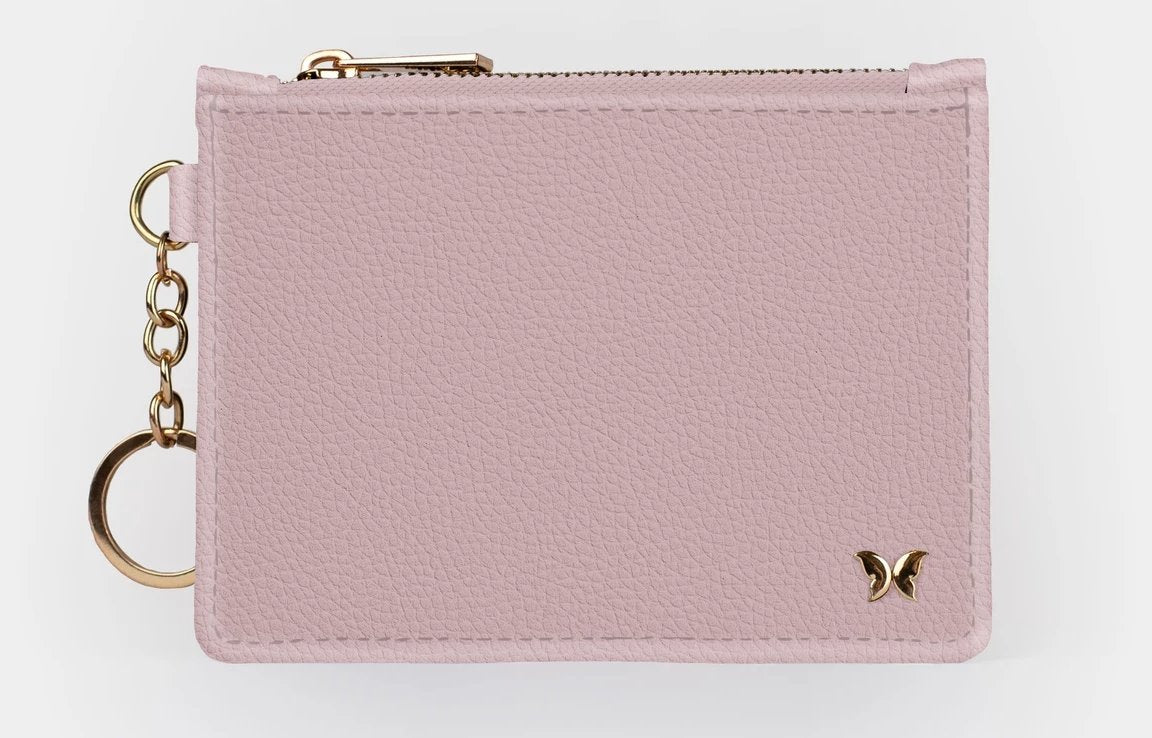CARNATION PINK - KEYCHAIN WALLET - Molly's! A Chic and Unique Boutique