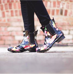 Chelsea Floral Rain Boot - Molly's! A Chic and Unique Boutique