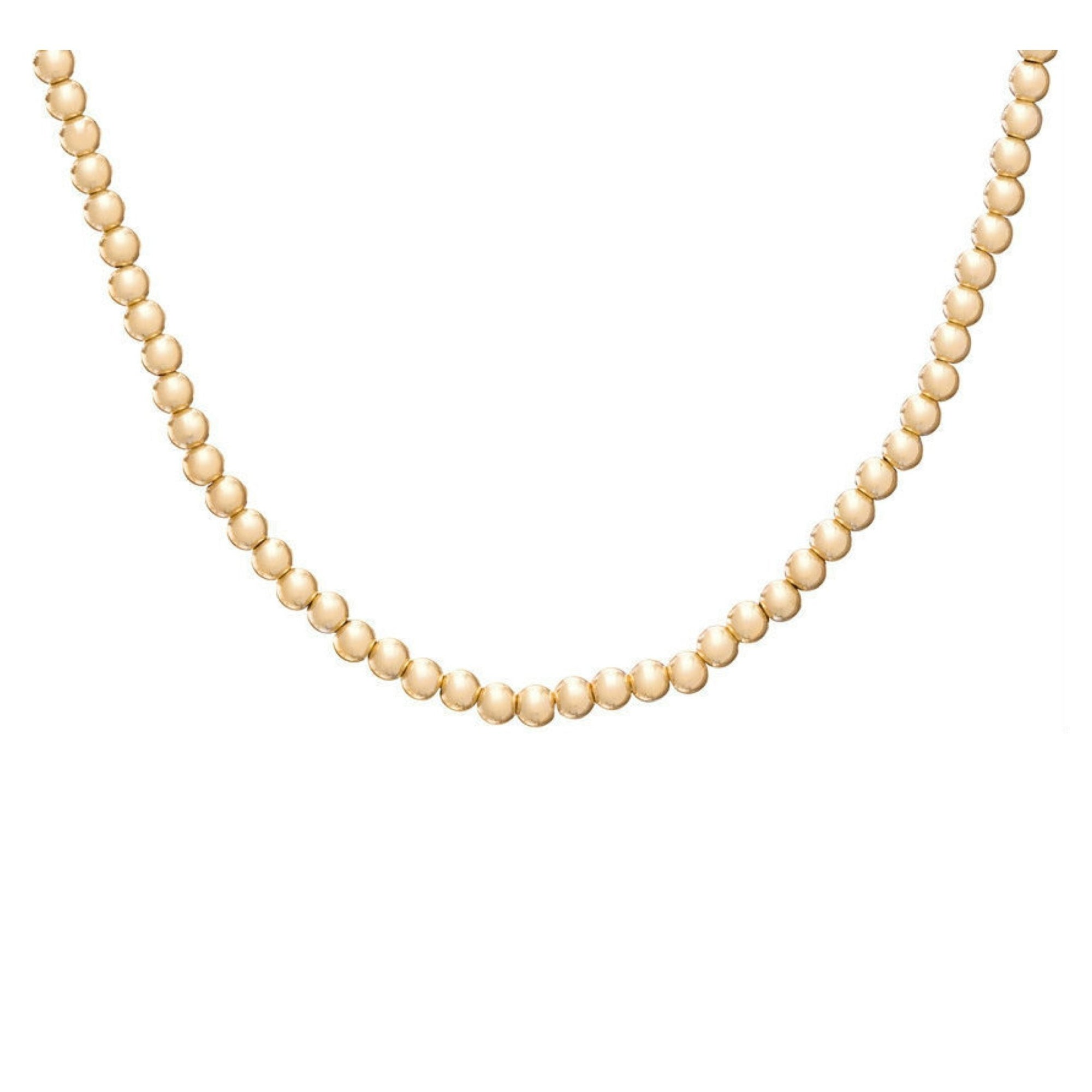 CLASSIC GOLD 3MM BEAD CHOKER - Molly's! A Chic and Unique Boutique
