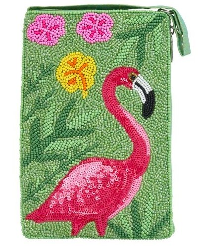 CLUB BAG LIME FLAMINGO - Molly's! A Chic and Unique Boutique