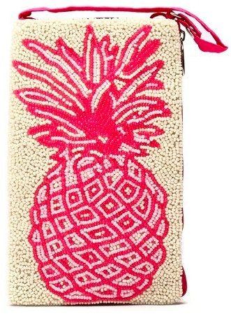 CLUB BAG PINK PINEAPPLE - Molly's! A Chic and Unique Boutique