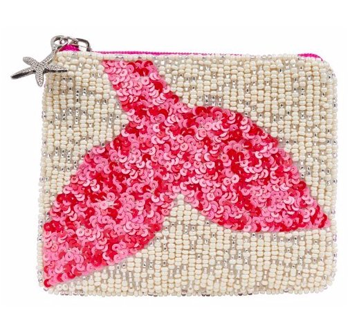 COIN PURSE MERMAID TAIL FUCHSIA - Molly's! A Chic and Unique Boutique