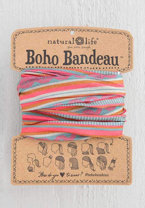 CORALSAND STRIPE BOHO HEADBAND - BBW203 - Molly's! A Chic and Unique Boutique