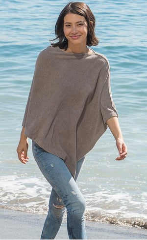 COZY CHIC LITE PONCHO - NEUTRALS - Molly's! A Chic and Unique Boutique