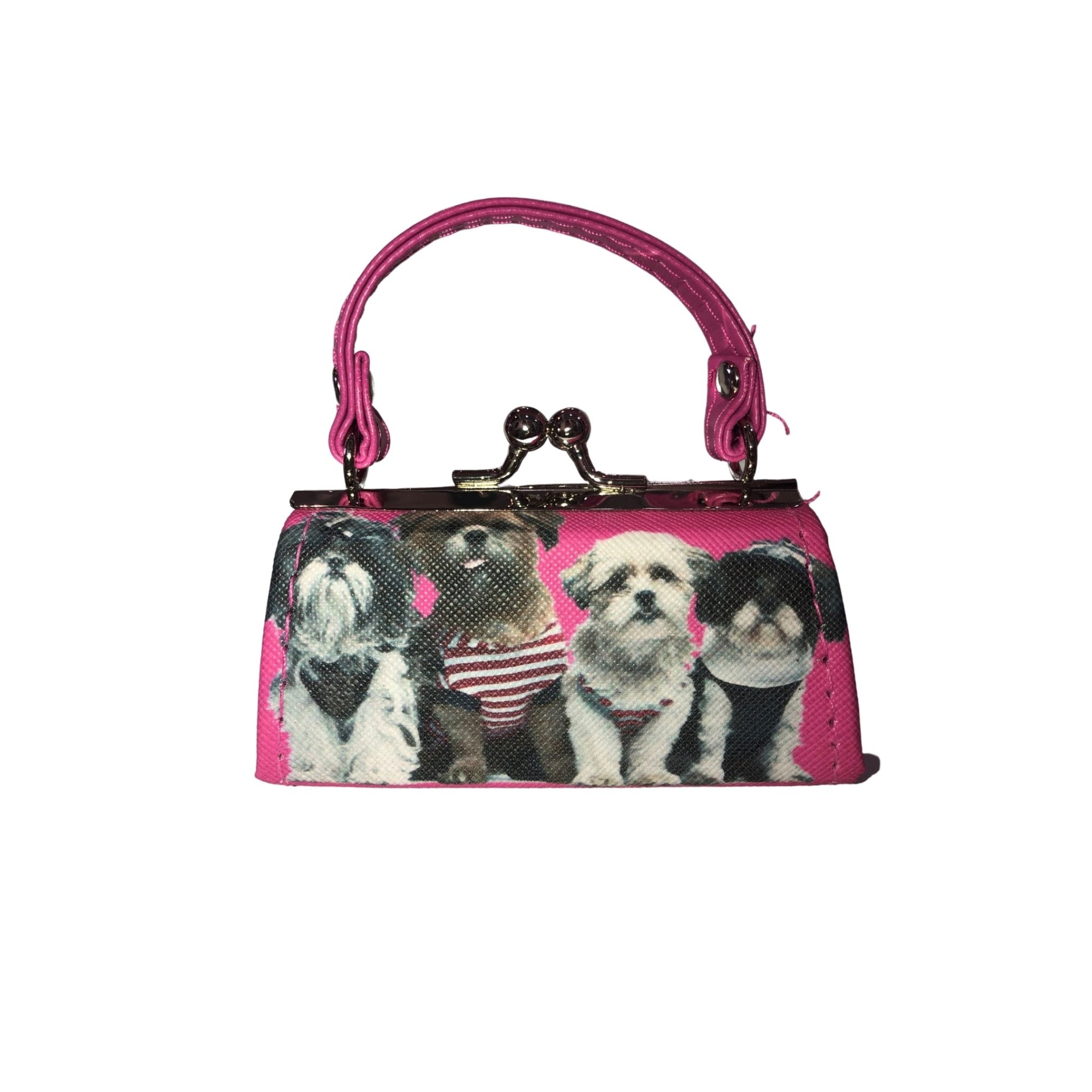 DOG COIN/LIPSTICK MINI PURSE - Molly's! A Chic and Unique Boutique