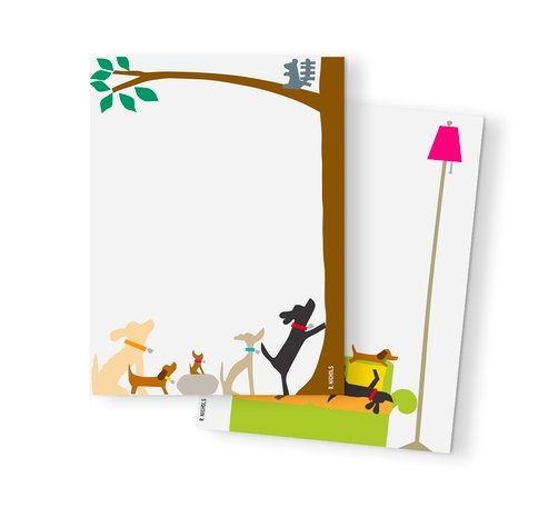 DOGGIE NOTEPAD SET - Molly's! A Chic and Unique Boutique