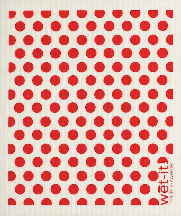 RED DOTS: Absorbent Cloth - Molly's! A Chic and Unique Boutique